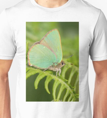 Green Hairstreak Butterfly Unisex T-Shirt