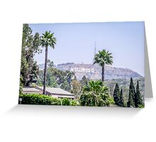Hollywood Hights Greeting Card