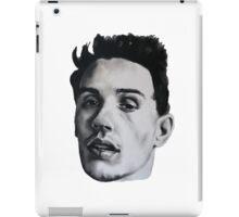 JAMES FRANCO DRAWING iPad Case/Skin