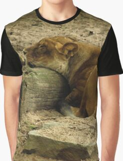 Sleeping lioness Graphic T-Shirt
