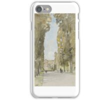 Edward Harrison Compton, Sanssouci in Potsdam viewed from the South iPhone Case/Skin