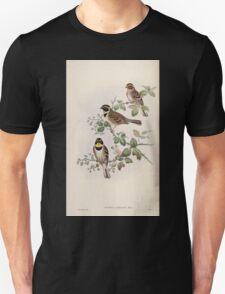 Birds of Asia John Gould 1883 V1 V7 312 Euspiza Elegans T-Shirt