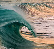 Barrels at Boomer by Andrew Dickman