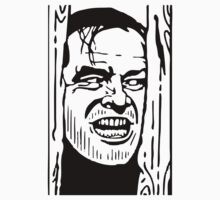 Jack Nicholson The Shining by popculture