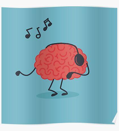 Brain Music Poster