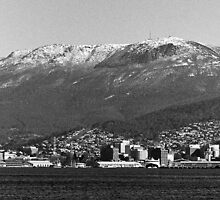 Hobart & Mt Wellington From Bellerive by Brett Rogers