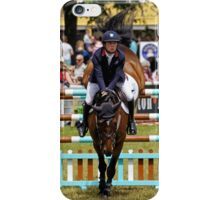 Show Jumping at the 2016 Royal Bath & West Show iPhone Case/Skin