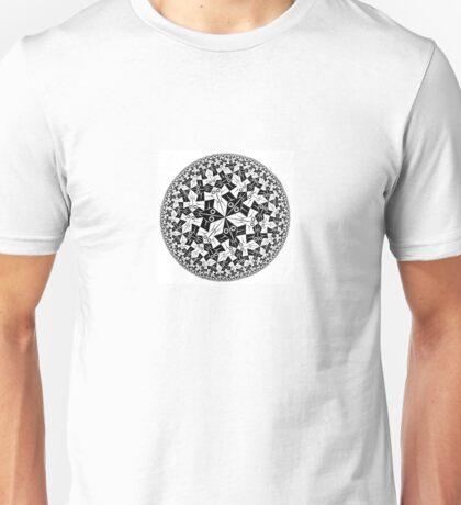 Circle Limit I by Escher Unisex T-Shirt