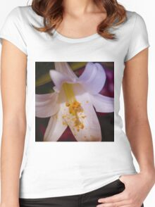 Vibrant Lily Women's Fitted Scoop T-Shirt