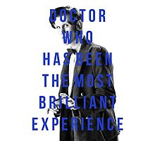 'doctor who has been the most brilliant experience' by imania