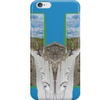 York. Double take in blue. iPhone Case/Skin