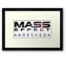 Mass effect - Andromeda  Framed Print