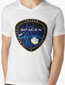 SpaceX Mens V-Neck T-Shirt