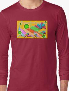 Swirlie Birdz Long Sleeve T-Shirt