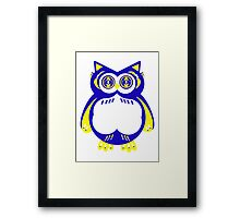 Owl or Cat? Framed Print