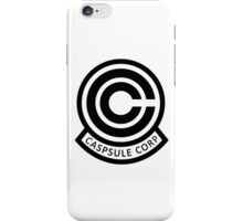 DBZ Capsule Corp Logo iPhone Case/Skin