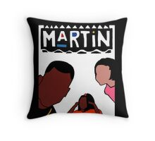 Martin (White) Throw Pillow