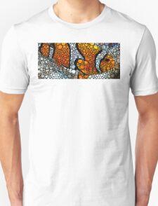 Stone Rock'd Clown Fish by Sharon Cummings Unisex T-Shirt
