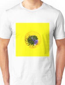 Bluebell in Dandelion globe abstract, Unisex T-Shirt