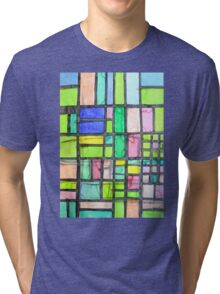 Homage to Mondrian Tri-blend T-Shirt