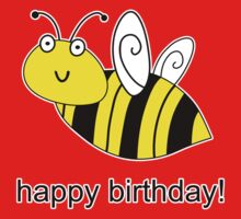 Bumble Bee Birthday One Piece - Short Sleeve