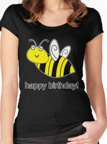 Bumble Bee Birthday Women's Fitted Scoop T-Shirt