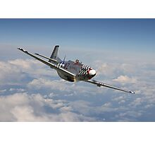 P51 Mustang - 'Big Beautiful Doll' Photographic Print
