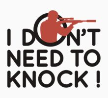 I Don't Need To Knock by artpolitic
