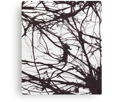 Pen and Ink (Untitled) Canvas Print