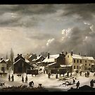 Francis Guy (American, ). Winter Scene in Brooklyn by MotionAge Media