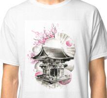 Japanese House Ink Illustration Classic T-Shirt