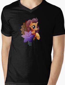 Saffron Masala Mens V-Neck T-Shirt