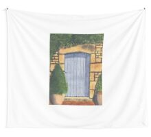 The Blue Gate Wall Tapestry