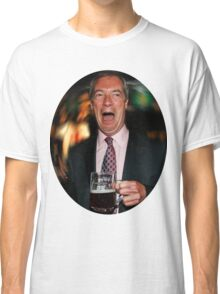 Nigel Farage Classic T-Shirt