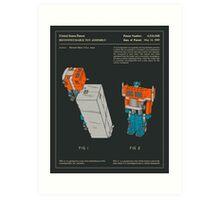 Reconfigurable Toy (1985) Art Print