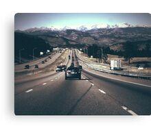 Colorado Mountains Canvas Print