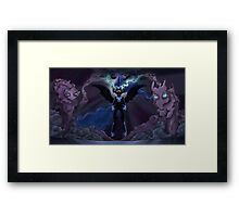 Nightmare Moons Takeover Framed Print