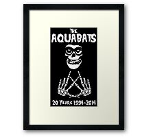 The Fiend Aquabats Framed Print