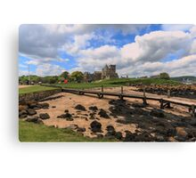 Inchcolm Island and Abbey, Fife. Scotland Canvas Print