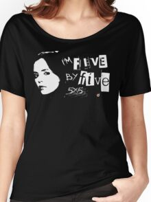 I'M FIVE BY FIVE Women's Relaxed Fit T-Shirt