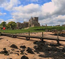 Inchcolm Island and Abbey, Fife. Scotland by Miles Gray