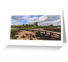 Inchcolm Island and Abbey, Fife. Scotland Greeting Card