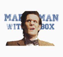 Mattman with a box by eruzavocado