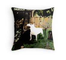 BULL TERRIER Throw Pillow