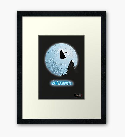 E.T.: Ex.Terminate!!! Framed Print