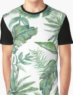 Bohemian Leaves Graphic T-Shirt