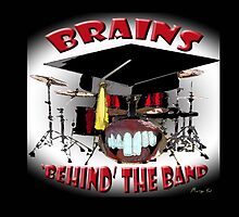 BRAINS behind the BAND by Matterotica