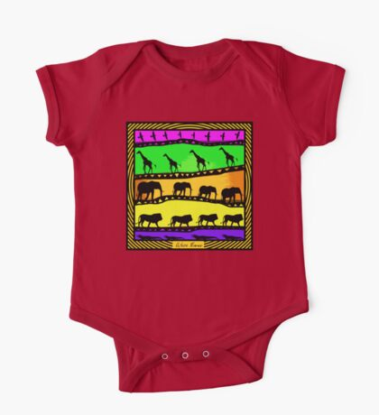 Africa Moves One Piece - Short Sleeve
