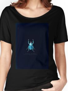 Aid to the identification of insects Charles Owen Waterhouse 1890 V1 V2 043 Brachysiderus Quadrimaculatus Amazona Amazon Inverted Women's Relaxed Fit T-Shirt