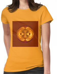 Crystal globe Womens Fitted T-Shirt